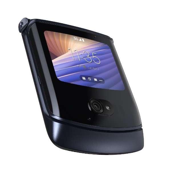 motorola razr 5G ポリッシュグラファイト「PAJR0005JP」Snapdragon 765 6.2型 メモリ/ストレージ: 8GB/256GB nanoSIM+eSIM ドコモ / au / ソフトバンクSIM対応 SIMフリースマートフォン
