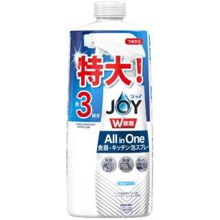 JOY(ジョイ)W除菌 ミラクル泡スプレー 微香 つめかえ3回分 630ml