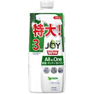 JOY(ジョイ)W除菌 ミラクル泡スプレー 緑茶の香り つめかえ3回分 630ml