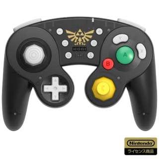 ホリ ワイヤレスクラシックコントローラー for Nintendo Switch ゼルダの伝説 NSW-274 【Switch】