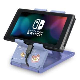 どうぶつの森 プレイスタンド for Nintendo Switch AD27-001 【Switch】
