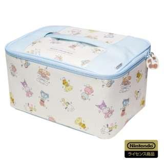 サンリオキャラクターズ まるごと収納バッグ for Nintendo Switch AD24-002 サンリオキャラクターズまるごと収納バッグNSW AD24-002