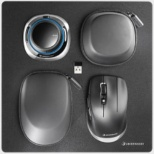 3DX-700084 マウスx2+マウスパッド[2ボタン /USB /有線/無線(ワイヤレス)][光学式 /7ボタン /Bluetooth・USB /無線(ワイヤレス)] SpaceMouse Wireless Kit 2