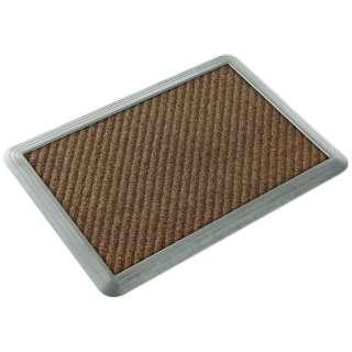 消毒マットシリコーン#6セット 60×90cm(ブラウン) 15957