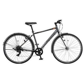 27型 クロスバイク 通学・通勤向け自転車 TB1 ティービーワン(T.Xマットグレー/7段変速・フレームサイズ:420mm) TB421【2021年モデル】 【組立商品につき返品不可】