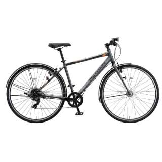 27型 クロスバイク 通学・通勤向け自転車 TB1 ティービーワン(T.Xマットグレー/7段変速・フレームサイズ:480mm) TB481【2021年モデル】 【組立商品につき返品不可】