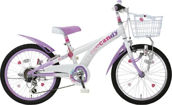 24型 子供用自転車 ハードキャンディCTB246(パープル/外装6段変速)