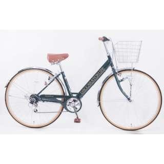 27型 自転車 ダカラットクルーズ(ボトルグリーン/外装6段変速) CV_W276R_HD_BAA_C_2【2021年モデル】 【組立商品につき返品不可】