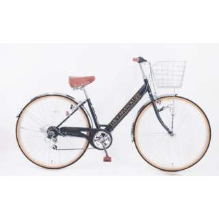 27型 自転車 ダカラットクルーズ(マットブラック/外装6段変速) CV_W276R_HD_BAA_C_2【2021年モデル】 【組立商品につき返品不可】