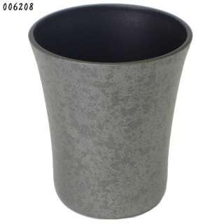 陶器風ひえ~るタンブラー 350cc 6208 黒柿釉 [350ml]