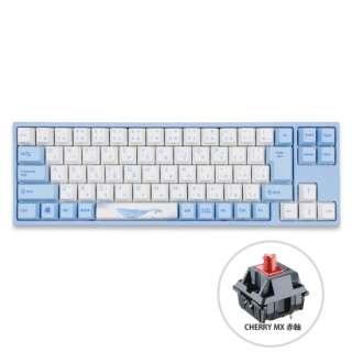 ゲーミングキーボード VA73 Sea Melody 赤軸 vm-va73-wbpe7hj-red [USB /有線]