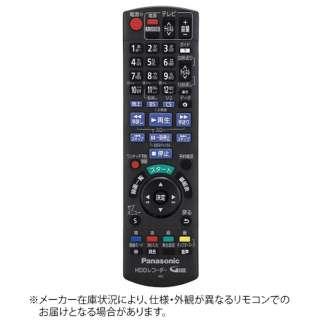 純正テレビ用リモコン【部品番号:N2QAYB000909】