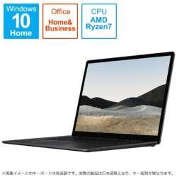 TFF-00043 Surface Laptop 4(サーフェス ラップトップ 4) ブラック [15.0型 /AMD Ryzen 7 /SSD:512GB /メモリ:16GB /2021年4月モデル]