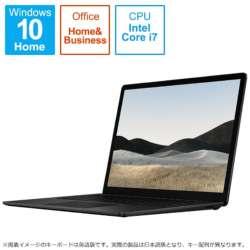 5GB-00015 Surface Laptop 4(サーフェス ラップトップ 4) ブラック [13.5型 /intel Core i7 /SSD:1TB /メモリ:32GB /2021年4月モデル]