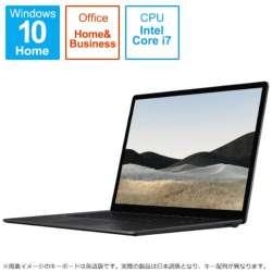 5IV-00015 Surface Laptop 4(サーフェス ラップトップ 4) ブラック [15.0型 /intel Core i7 /SSD:1TB /メモリ:32GB /2021年4月モデル]