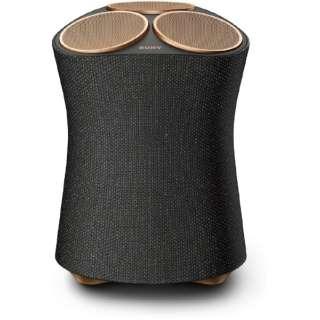 ブルートゥーススピーカー ブラック SRS-RA5000 M [ハイレゾ対応 /Bluetooth対応 /Wi-Fi対応]