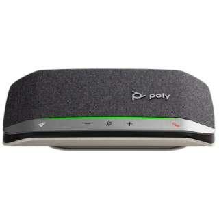 PPSYNC-RSY20UA スピーカーフォン Bluetooth+USB-C・USB-A接続 / 音楽スピーカー / モバイルバッテリー Sync 20 会議用 [USB・充電式]