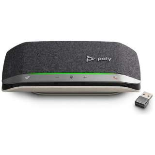PPSYNC-RSY20UABT スピーカーフォン Bluetooth+USB-C・USB-A接続 / 音楽スピーカー / モバイルバッテリー Sync 20+ 会議用 [USB・充電式]