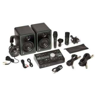 PCマイク+ヘッドホン+スピーカー+モニターコントローラー Studio Bundle