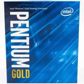 〔CPU〕Intel Pentium Gold G6605 Processor BX80701G6605