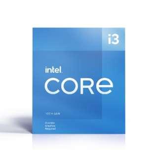 〔CPU〕Intel Core i3-10105F Processor BX8070110105F