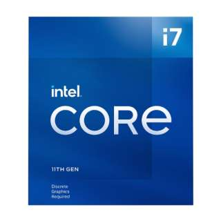 〔CPU〕Intel Core i7-11700F Processor BX8070811700F
