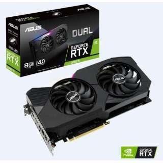 グラフィックボード DUAL-RTX3060TI-8G [8GB /GeForce RTXシリーズ]