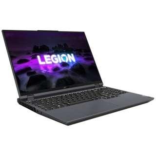 82JQ005PJP ゲーミングノートパソコン Legion 560 Pro ストームグレー [16.0型 /AMD Ryzen 7 /SSD:512GB /メモリ:16GB /2021年3月モデル]