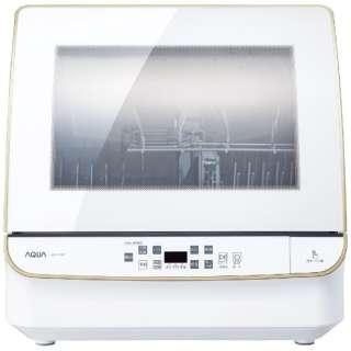 食器洗い機(送風乾燥機能付き) ホワイト ADW-GM3-W [4人用]