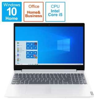 82HL001LJP ノートパソコン IdeaPad L360i ブリザードホワイト [15.6型 /intel Core i5 /SSD:512GB /メモリ:8GB /2021年4月モデル]