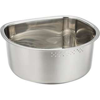 SUIグートD型洗い桶ゴム付き小SUI-6048
