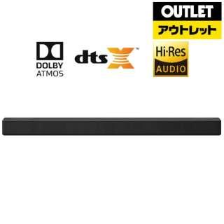 【アウトレット品】 ホームシアター (サウンドバー) ブラック SN7CY [ハイレゾ対応 /フロント・バー /Bluetooth対応 /DolbyAtmos対応] 【外装不良品】