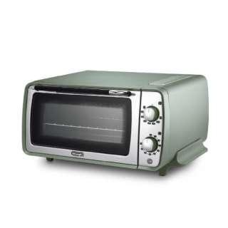 オーブン&トースター ディスティンタ・ペルラ コレクション グリーン EOI408J-GR