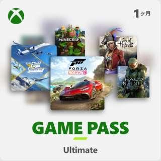 Xbox Game Pass Ultimate 1ヶ月版 [Windows・XboxOne用] 【ダウンロード版】