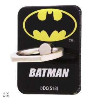 バットマン/スマートフォン用リング アクリル/バットマン/ロゴ イングレム IJ-WABKR/BM001