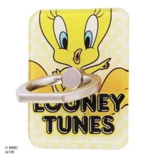 ルーニー・テューンズ/スマートフォン用リング アクリル/トゥイーティー/JUMP イングレム IJ-WABKR/TW001