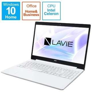 PC-NS200R2W-S4 ノートパソコン LAVIE Note Standard パールホワイト [15.6型 /intel Celeron /SSD:256GB /メモリ:4GB /2021年4月モデル]