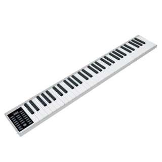 電子キーボード PlayTouchEasy Sun Ruck ホワイト SR-DP05 [61鍵盤]