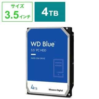 WD40EZAZ 内蔵HDD SATA接続 WD Blue [4TB /3.5インチ]