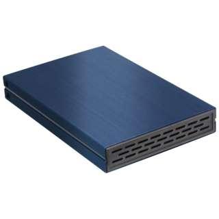 OWL-ESL25U31-NV2 HDD/SSDケース USB-A接続 ネイビー [2.5インチ対応 /SATA /1台]