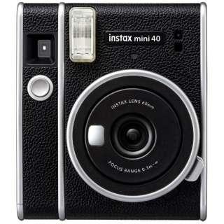 インスタントカメラ 『チェキ』 instax mini 40 ブラック