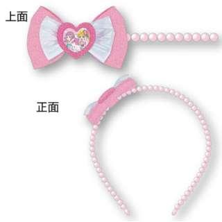 トロピカル~ジュ!プリキュア パール風リボンカチューシャ ピンク