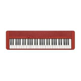 キーボード Casiotone レッド CT-S1RD [61鍵盤]