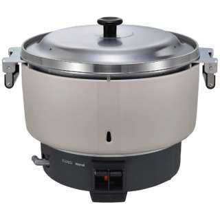 業務用炊飯器 10.0L(5.5升)タイプ プロパンガス(LPG)φ9.5ガス用ゴム管接続 リンナイ RR-550C