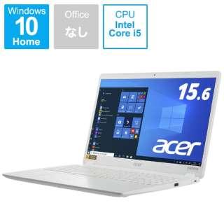 A315-56-F58Y/W ノートパソコン Aspire 3 パールホワイト [15.6型 /intel Core i5 /SSD:512GB /メモリ:8GB /2021年4月モデル]