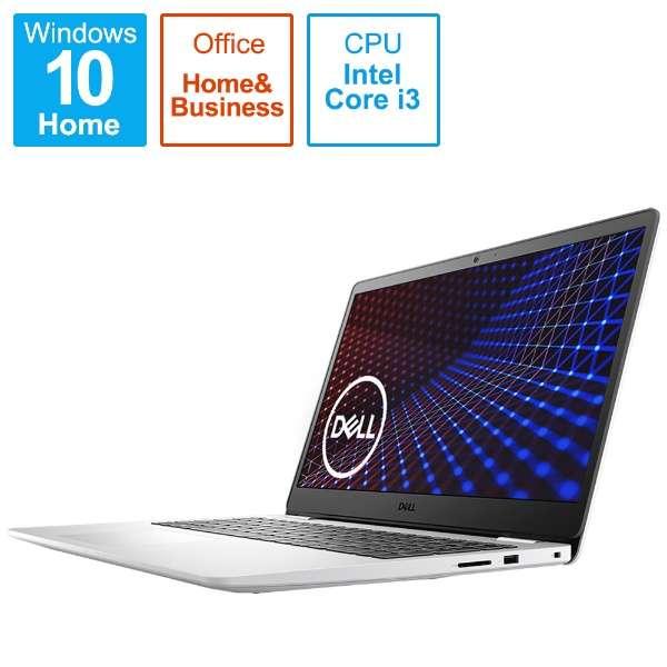 ノートパソコン Inspiron 15 3501 ホワイト NI335L-AWHBCW [15.6型 /intel Core i3 /メモリ:8GB /SSD:256GB /2020秋冬モデル]