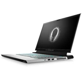 ゲーミングノートパソコン Alienware m15 R4 ルナライト(シルバーホワイト) NAM85VR-BHLW [15.6型 /intel Core i7 /メモリ:16GB /SSD:1TB /2021年春モデル]