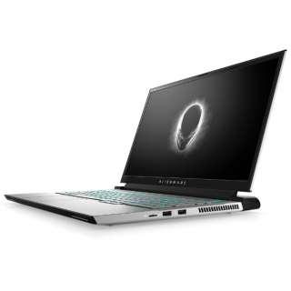 ゲーミングノートパソコン Alienware m17 R4 ルナライト(シルバーホワイト) NAM97E-BHLW [17.3型 /intel Core i7 /メモリ:32GB /SSD:1TB /2021年春モデル]