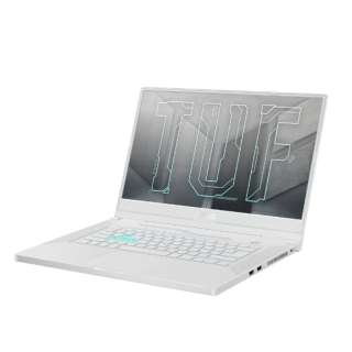 FX516PM-I7G3060WBKS ゲーミングノートパソコン TUF Dash F15 FX516PM ムーンライトホワイト [15.6型 /intel Core i7 /SSD:512GB /メモリ:16GB /2021年4月モデル]