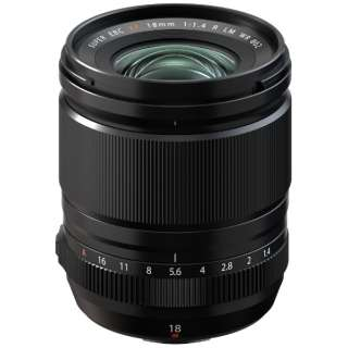 カメラレンズ XF18mmF1.4 R LM WR FUJINON(フジノン) [FUJIFILM X /単焦点レンズ]
